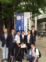 大学院生(スポーツ健康科学研究科)が日本体育学会第66回大会に参加しました