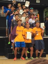 日本学生選手権でスポーツ健康科学部古山大さんが優勝!(トライアスロン)