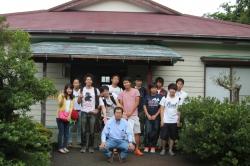 社会学科3年恩田ゼミが地域づくりをテーマに8月三宅島で合宿を行いました