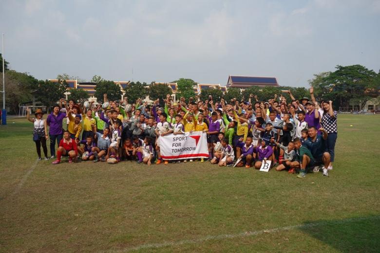 日本ラグビー協会連携プロジェクト実施(タイ)