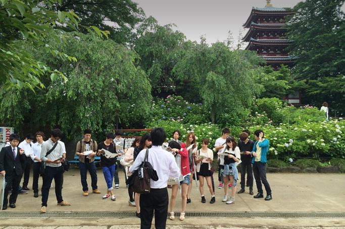 松戸の観光振興のために(国際観光学科3年幸田ゼミ)