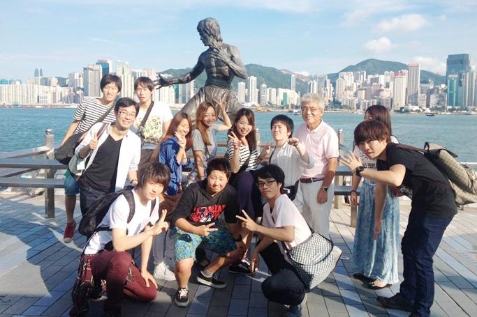 観光研修 in 香港