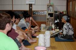3年恩田ゼミが地域づくりをテーマに8月神津島で合宿を行いました