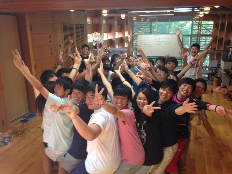 山中湖で合同ゼミ合宿を実施(スポ健松田ゼミ)