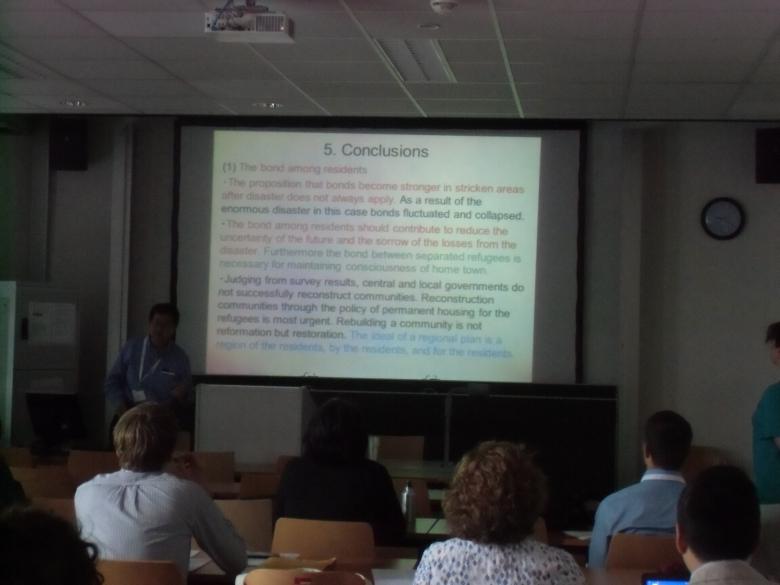 恩田教授がウィーンの国際学会で座長として参加し発表しました