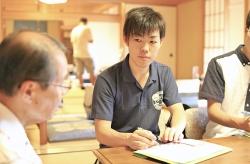 地域活性インターンシップに法学部の学生が参加