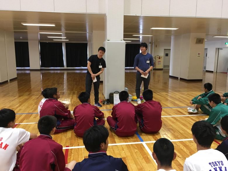 千葉の高校でアクティビティを用いたコミュニケーション体験授業(松田ゼミ)