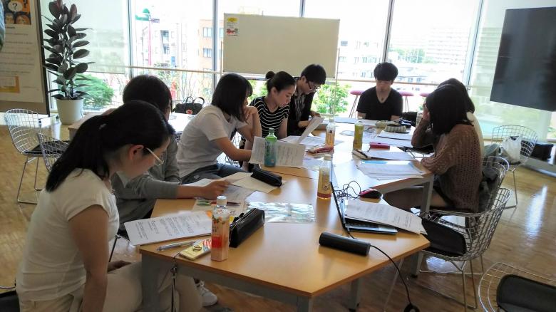 プロジェクト学習「英語による東京観光ツアー企画」活動日記2