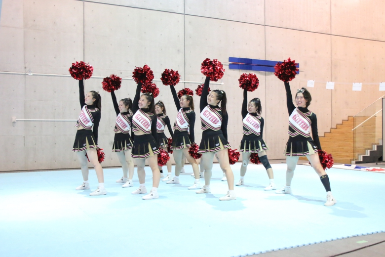 チアリーディング部が第19回 関東選手権大会に出場します