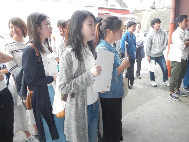 プロジェクト学習「松戸市の学生観光サポーター事業」活動報告3