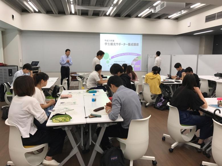 プロジェクト学習「松戸市の学生観光サポーター事業」活動報告4