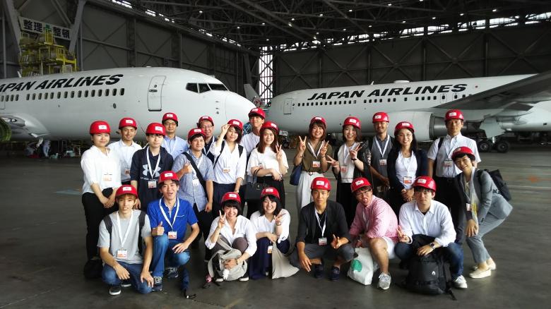 航空業界の現場を見学しました(3年髙橋ゼミ)