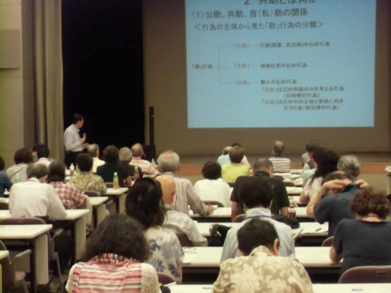 恩田教授が埼玉県のいきがい大学で講演をしました