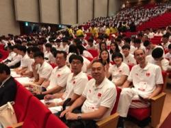 2017年度スポーツ庁補助事業 第25回日中韓交流競技会 茨城大会に本学留学生が通訳ボランティアとして参加しました。