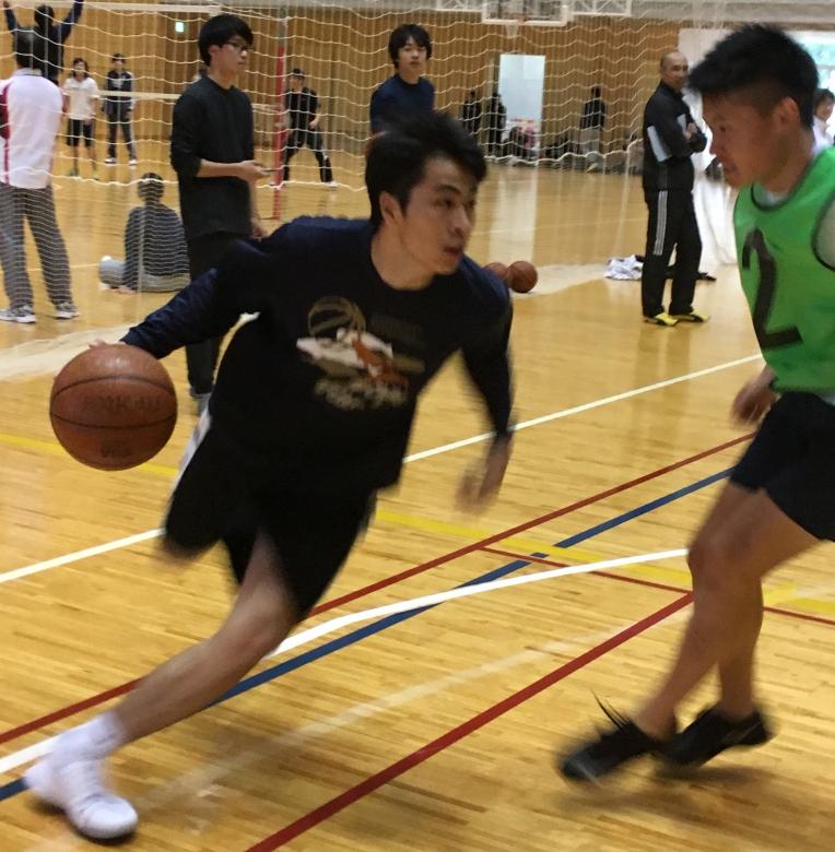 向山・三木合同ゼミ報告「教育・ビジネス・メディアの視点で楽しむバスケットボール」