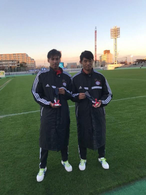 サッカー部 第91回関東大学サッカーリーグ ベストイレブン選出