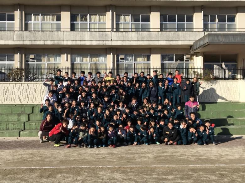 西機ゼミ いわき高野小学校 内郷第三中学校交流会