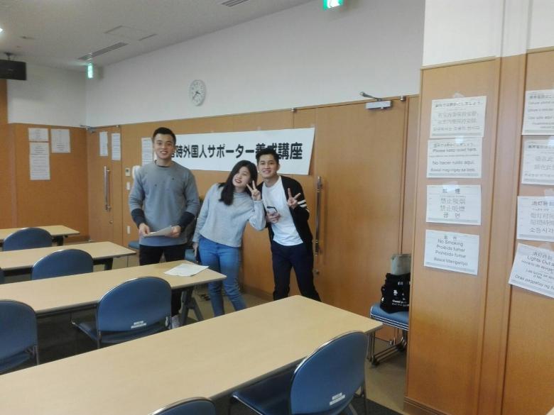 本学留学生が『柏市 災害時外国人サポーター 養成講座』に参加しました