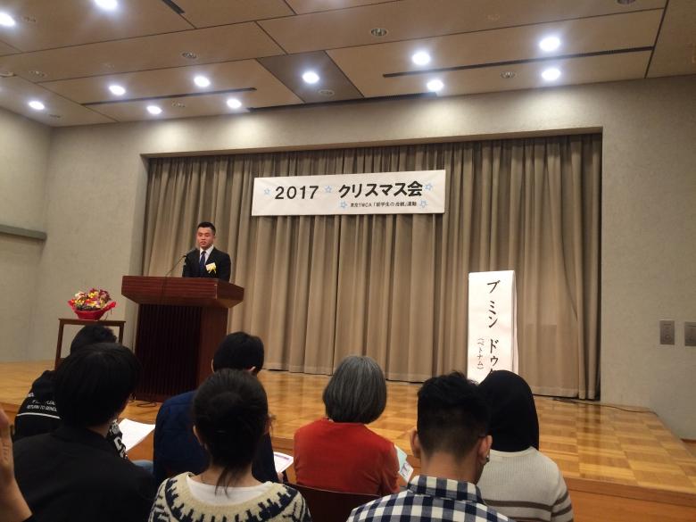 東京YWCA日本語スピーチ大会で優勝