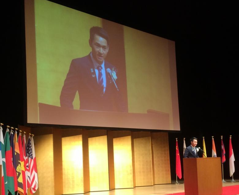 第7回全日本留学生日本語スピーチコンテストで入賞!!