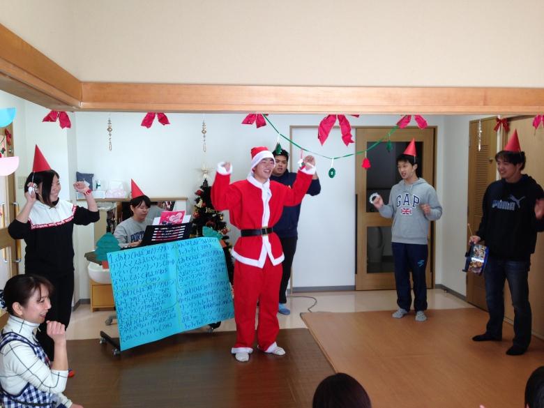 3年生による子育て支援クリスマス会