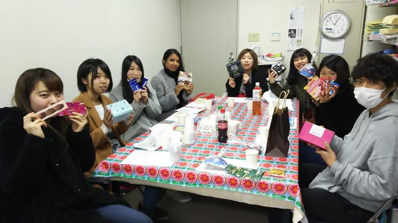 1年 高橋ゼミ「クリスマスランチ会」