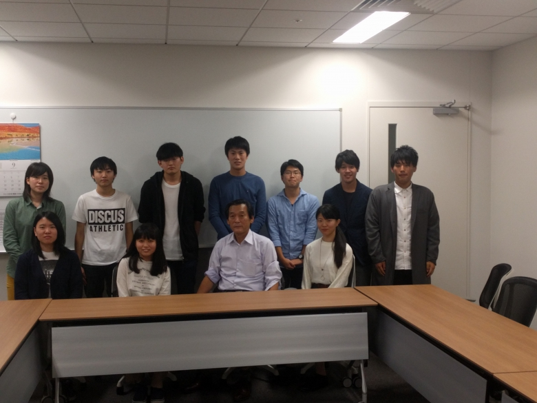 松戸市長と法学部学生が懇談
