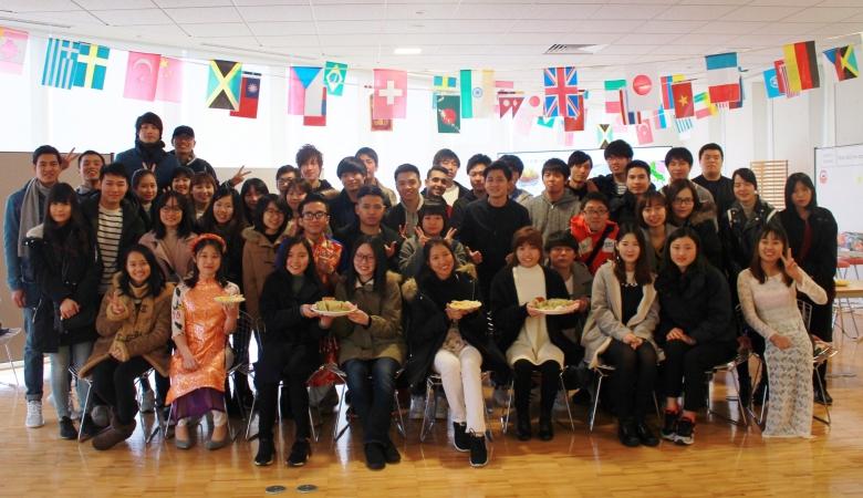 旧正月を祝うイベントを開催しました