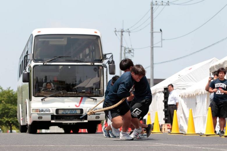 ラグビーの楽しさを伝えたい! ラグビー部が龍ヶ崎市ラグビー協会イベントで活躍