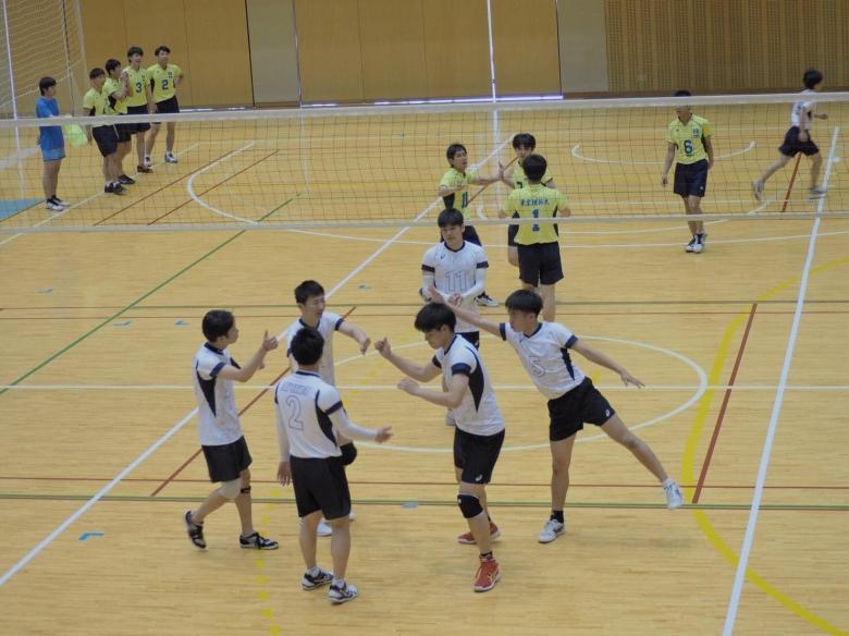 男子バレーボール部 関東大学バレーボールリーグ5部昇格