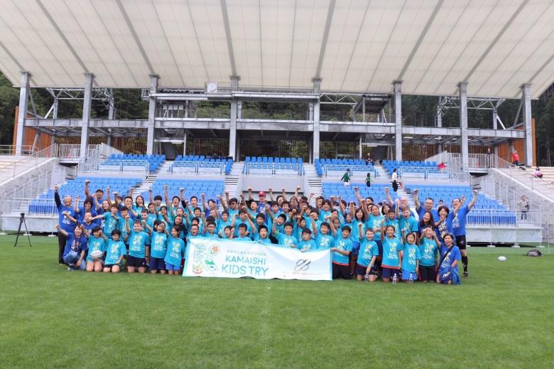 スポ健ゼミ生も参画 釜石市でラグビーイベント開催