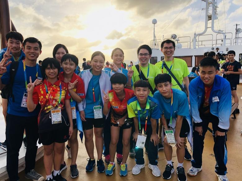 2018年「ジュニアスポーツアジア交流大会」にベトナム通訳ボランティアとして参加