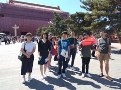 北京物資学院(中国)と本学との交流協定三十周年を記念し中国・北京で国際交流プログラムを実施しました。