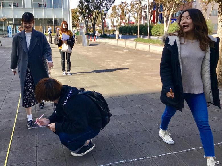 2年福井ゼミ 歩いて距離を測れるようになろう
