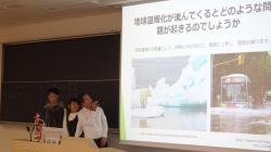 留学生ゼミの合同発表会と企業訪問を実施