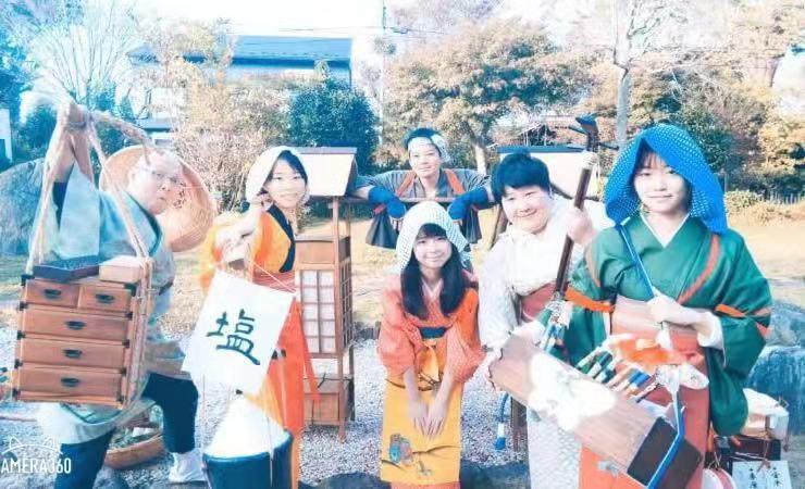佐倉市で開催された『佐倉 ❝ 江戸 ❞ 時代まつり』 に国際ボランティアとして参加しました