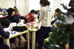 ぴあ+『クリスマス工作』を開催いたしました