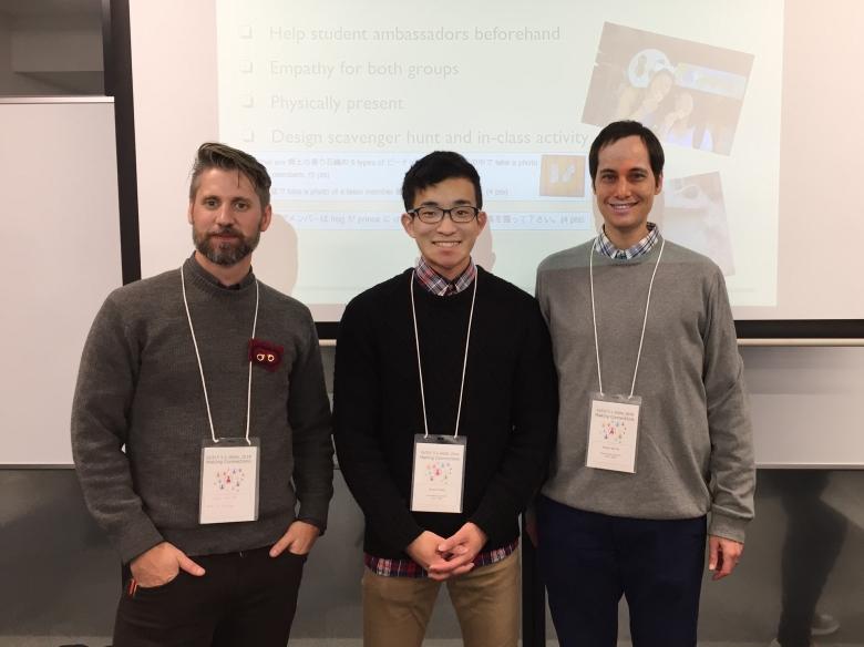 日本自律学習学会(JASAL)にて本学学生が英語でプレゼンテーションを実施