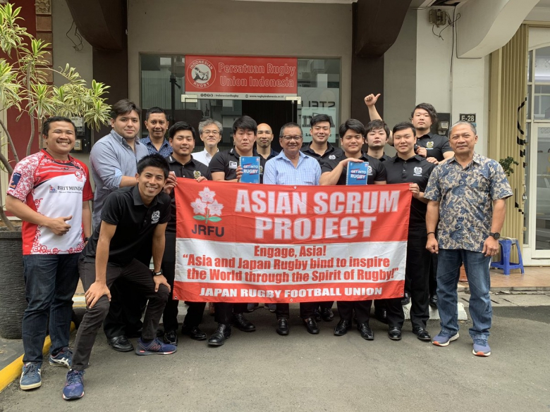 JICA連携事業 ラグビー部学生がインドネシアで活動中
