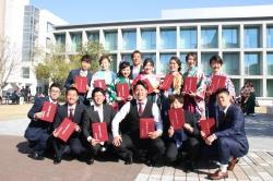 2018年度 卒業式ならびに大学院学位記授与式が挙行されました