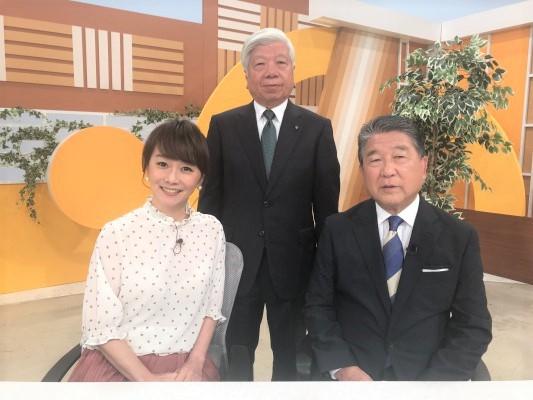 野尻学長「徳光&木佐の知りたいニッポン!」6月2日放送に出演