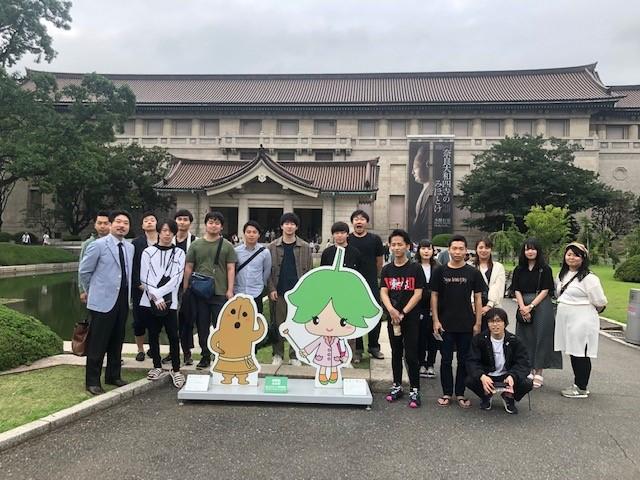 東京国立博物館を訪ねて(4年中原ゼミ:美術史)
