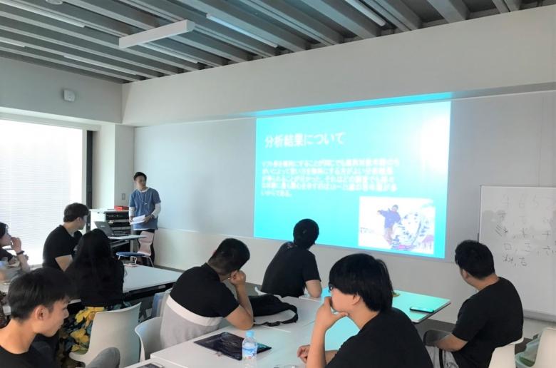 3年澤海ゼミの活動①~データ分析を用いた研究発表~