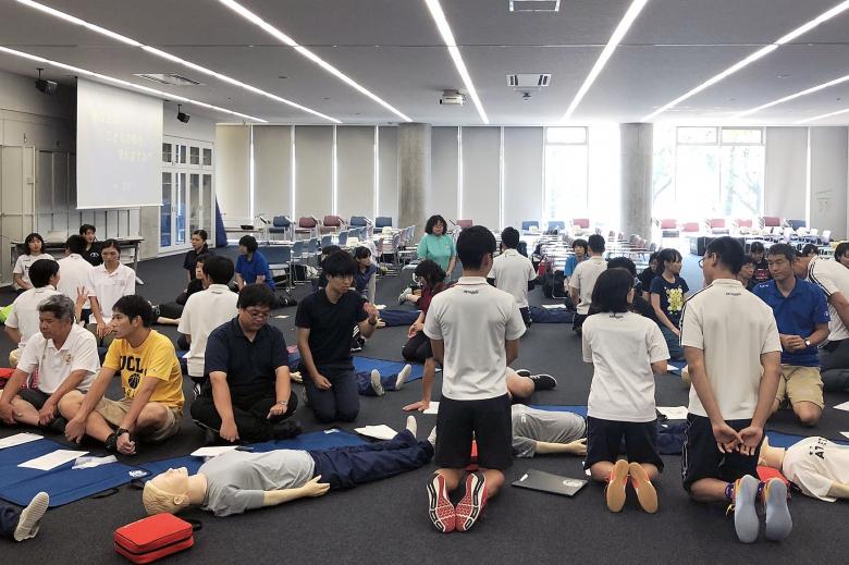 龍流連携事業『救急救命講習会』を開催