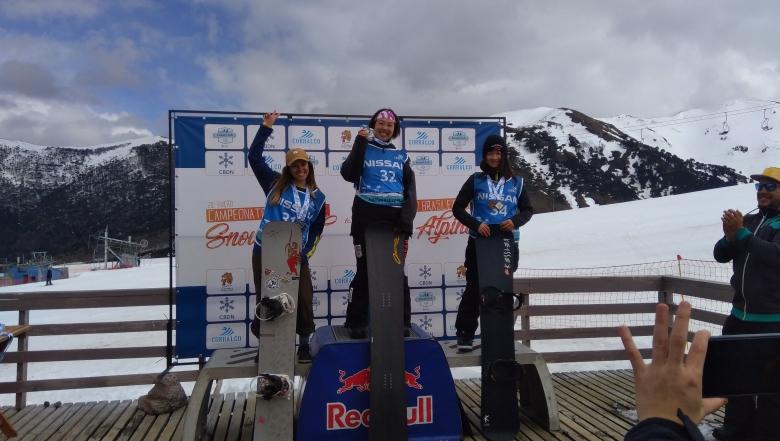 【スノーボード】South American Cup 女子スノーボードクロス 優勝