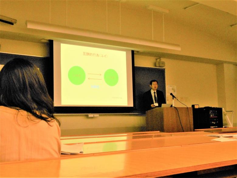 恩田教授が日本社会学会で報告