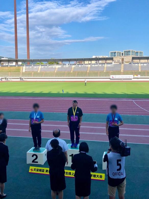天皇賜盃 第88回日本学生陸上競技対校選手権大会 女子ハンマー投げ優勝