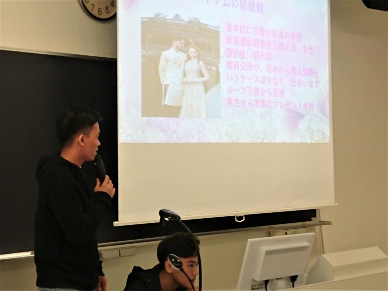 留学生1年ゼミ合同発表会