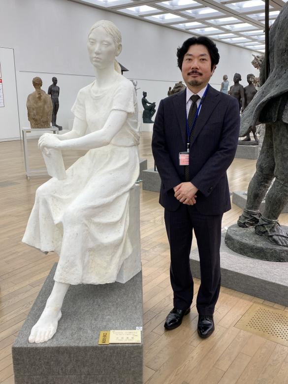 中原教授の作品が日展会員賞を受賞