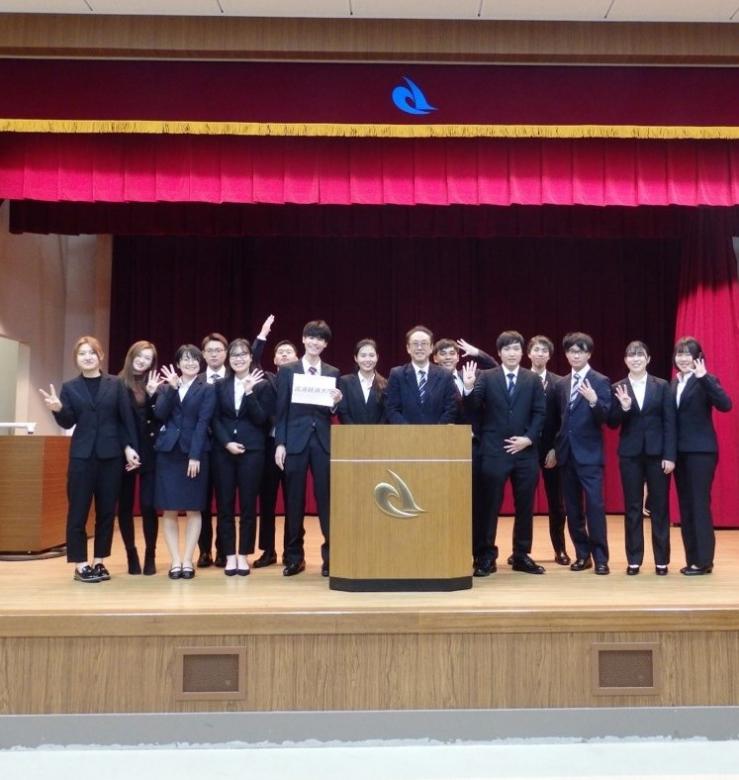 3年小野ゼミ 「物流関連ゼミ学生による研究発表会」に参加